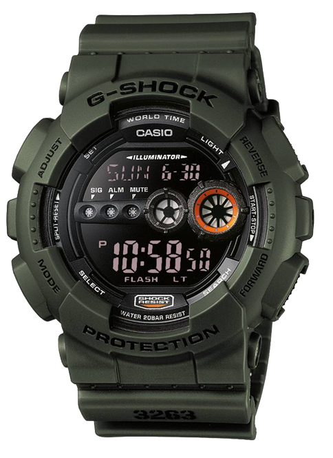 Image of   Casio GD-100MS-3ER