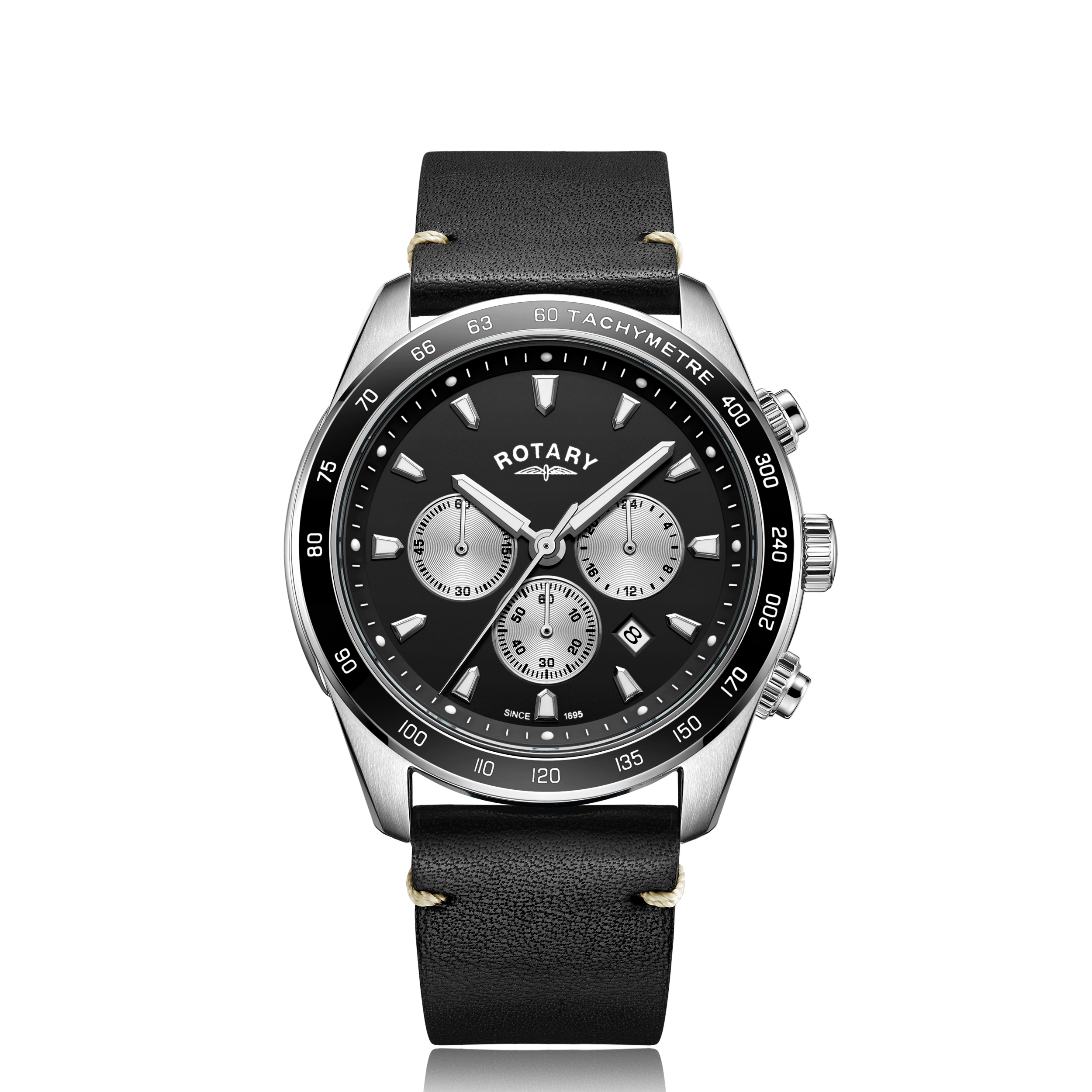 Image of   Rotary Black Henley Gents Chronograph Quartz GS05115/04
