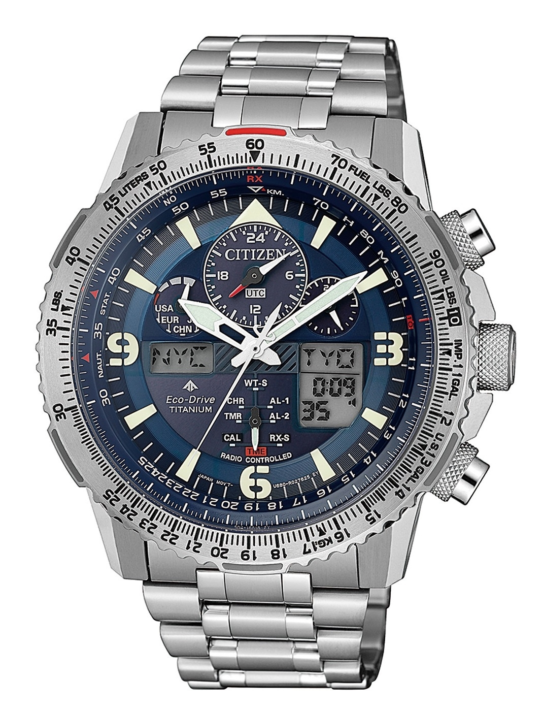 Image of   Citizen Skyhawk Eco-Drive JY8100-80L