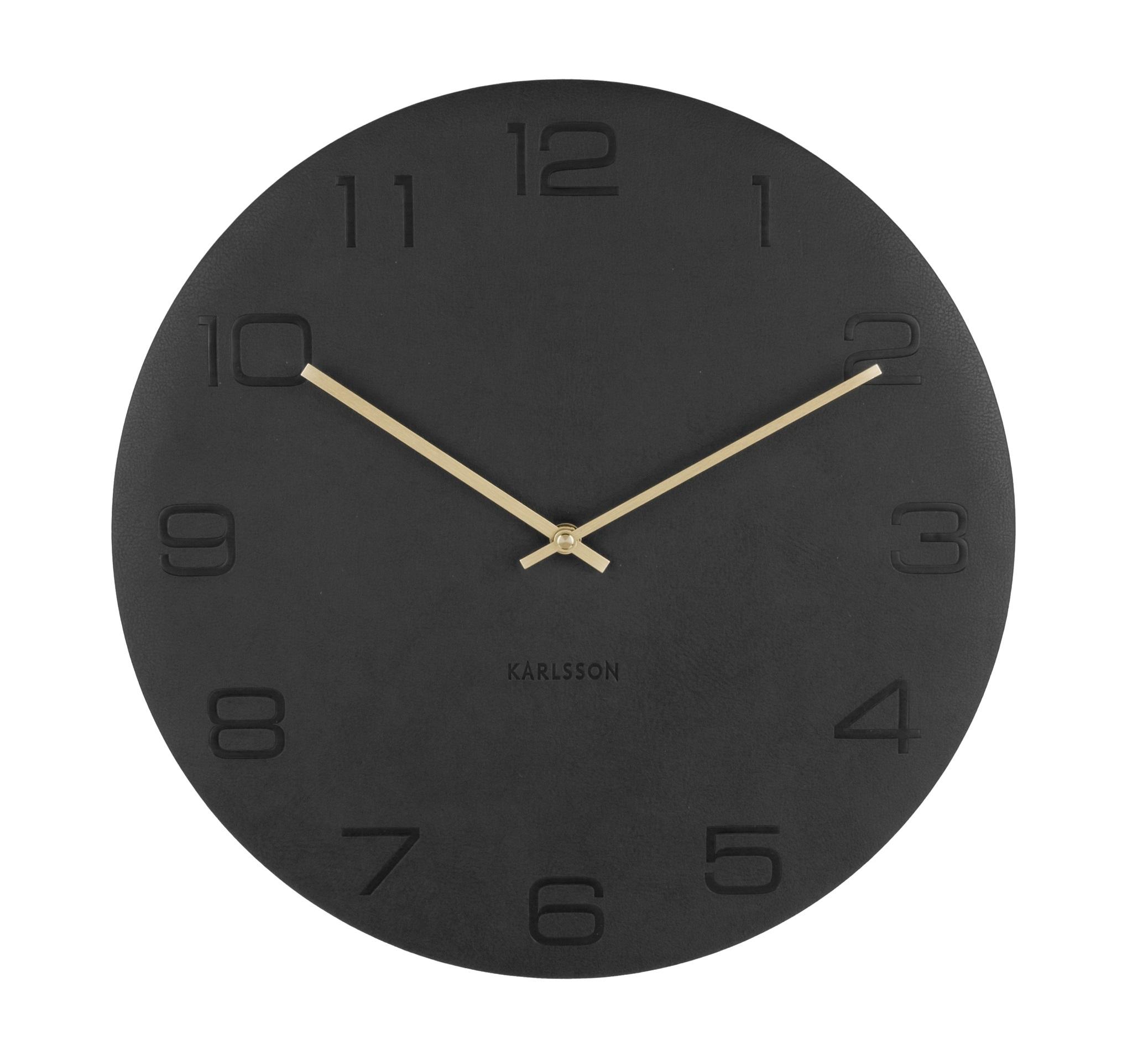Image of   Karlsson Wall clock Vigorous (Sort)