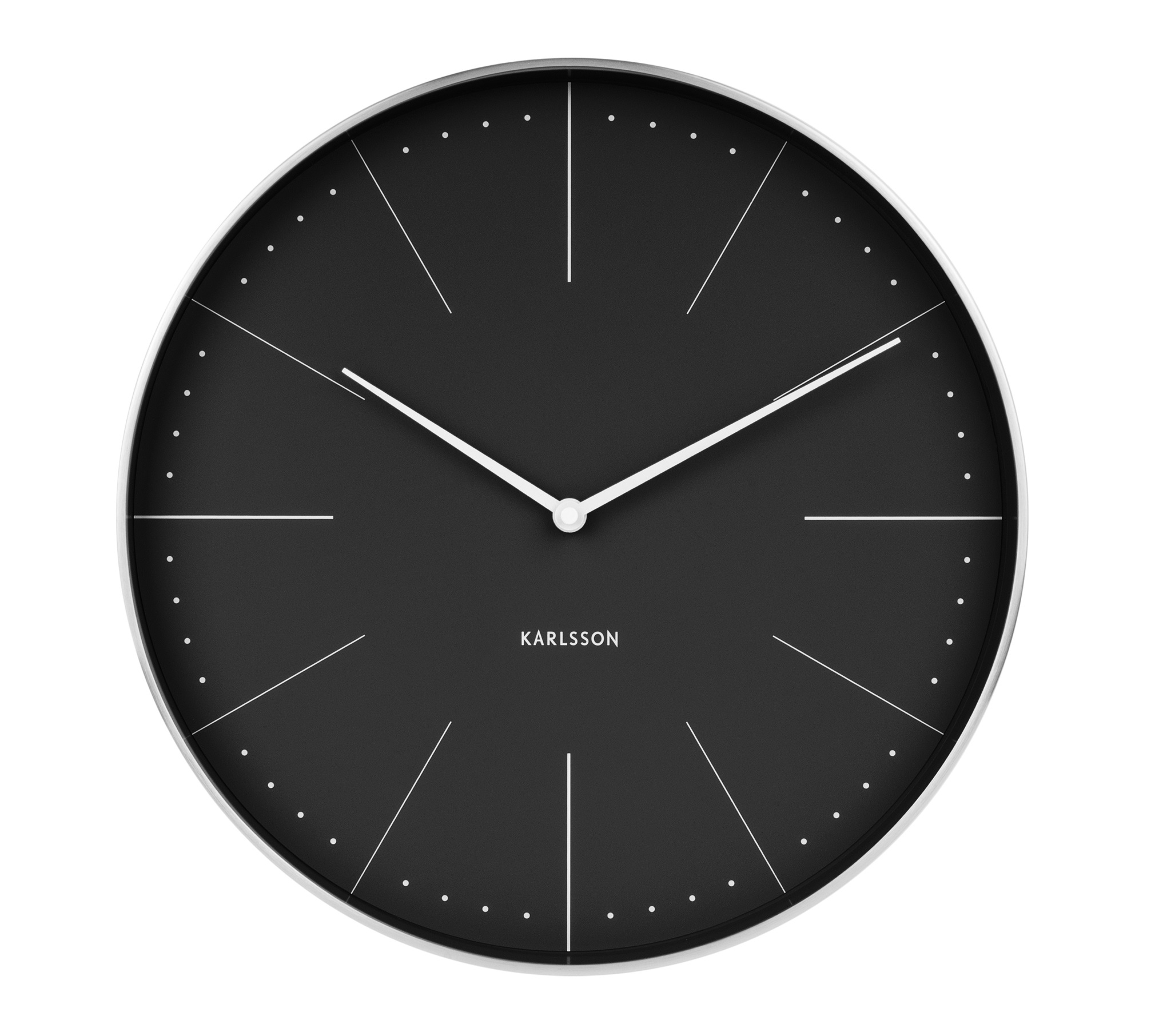 Image of   Karlsson Wall clock Normann station (Sort)