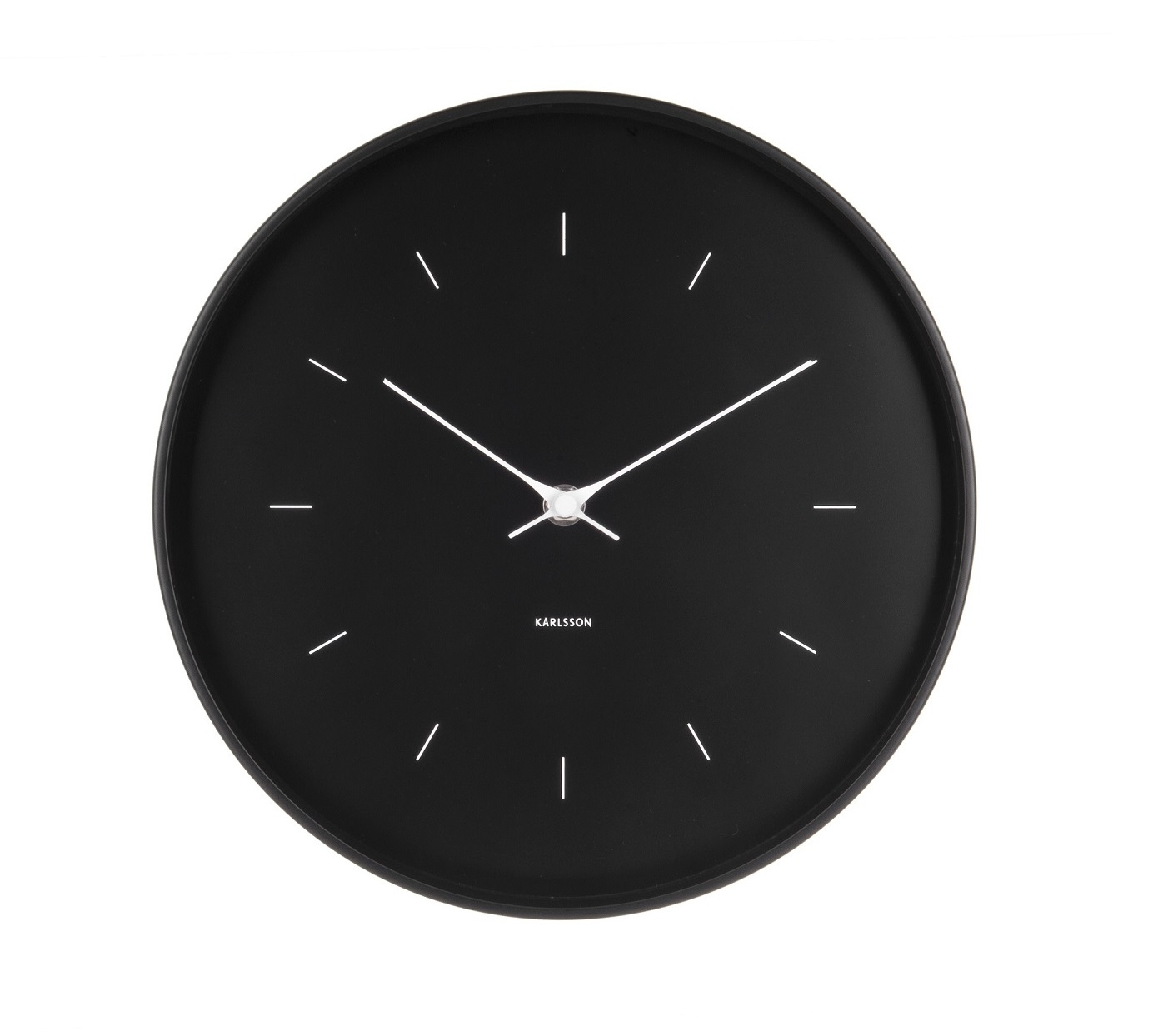 Image of   Karlsson Wall clock Butterfly Hands Black