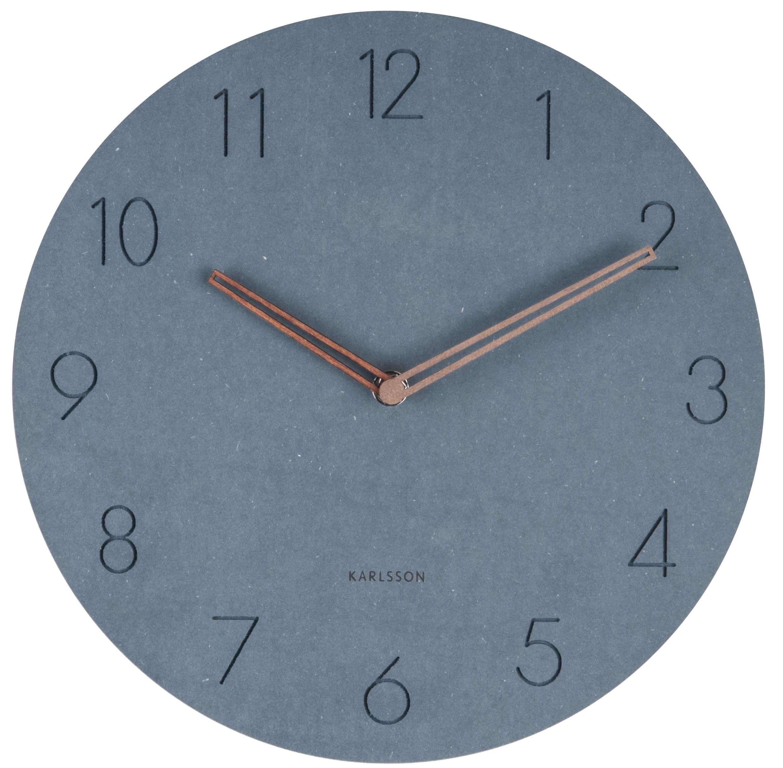 Image of   Karlsson Wall clock Dura Blue