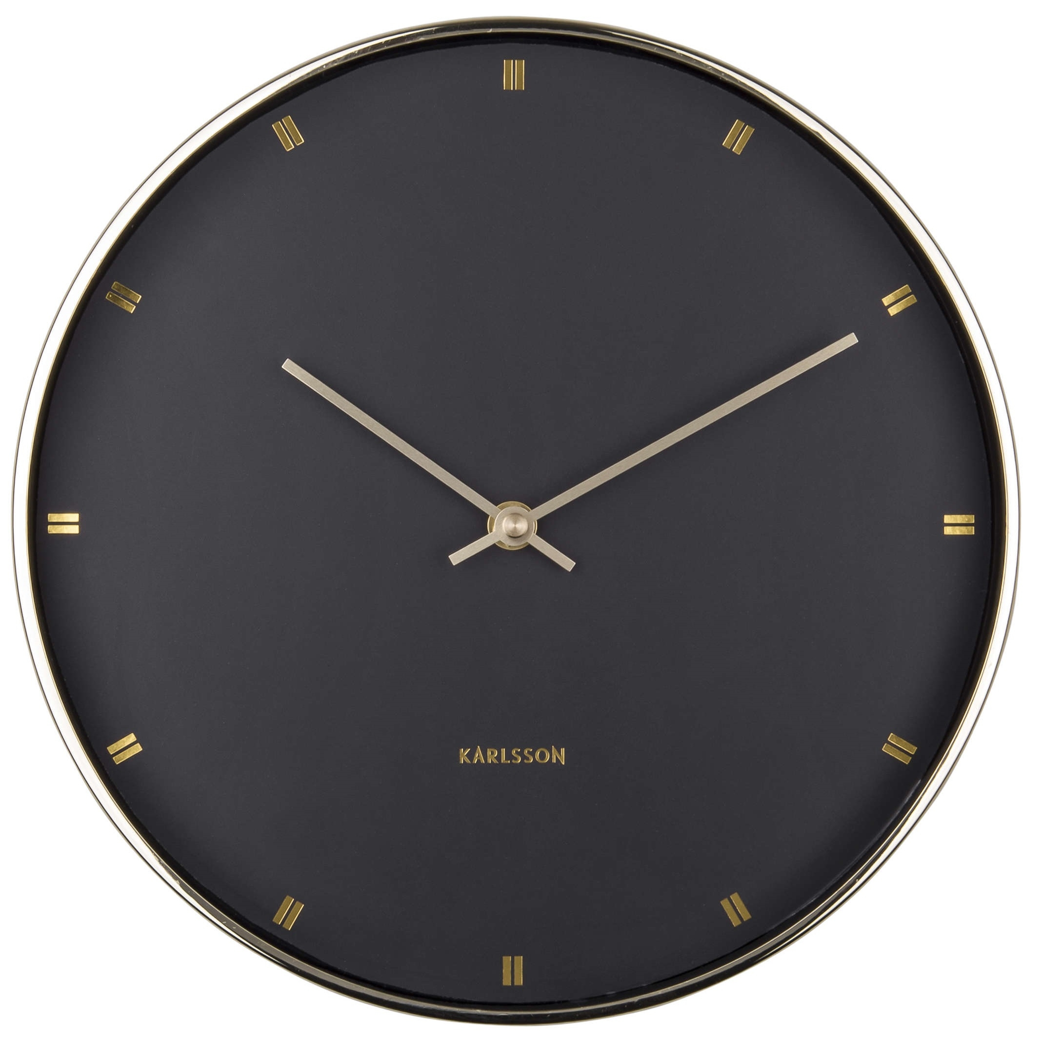 Image of   Karlsson Wall Clock Petite KA5776BK