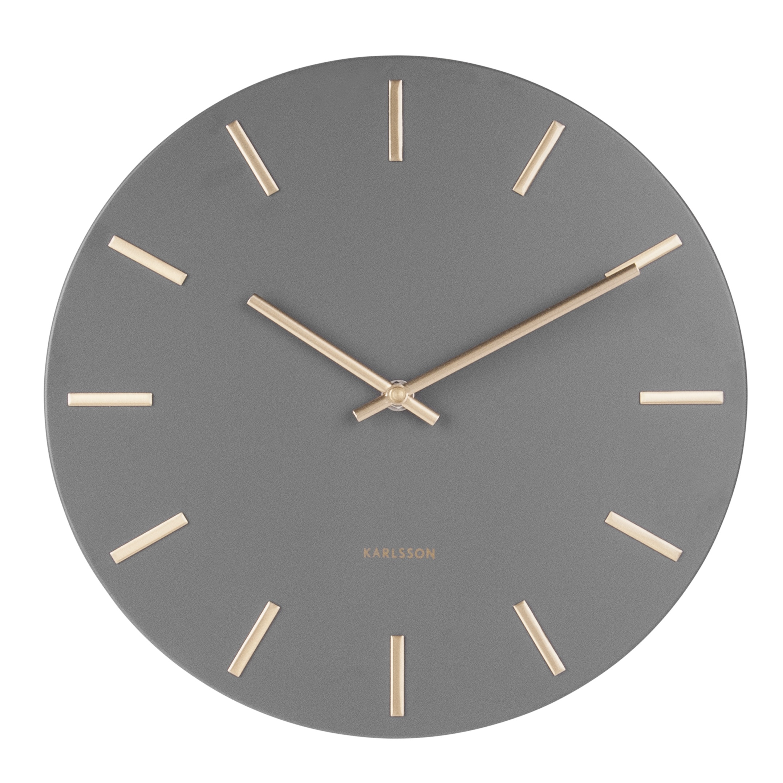 Image of   Karlsson Wall Clock Charm KA5716GY