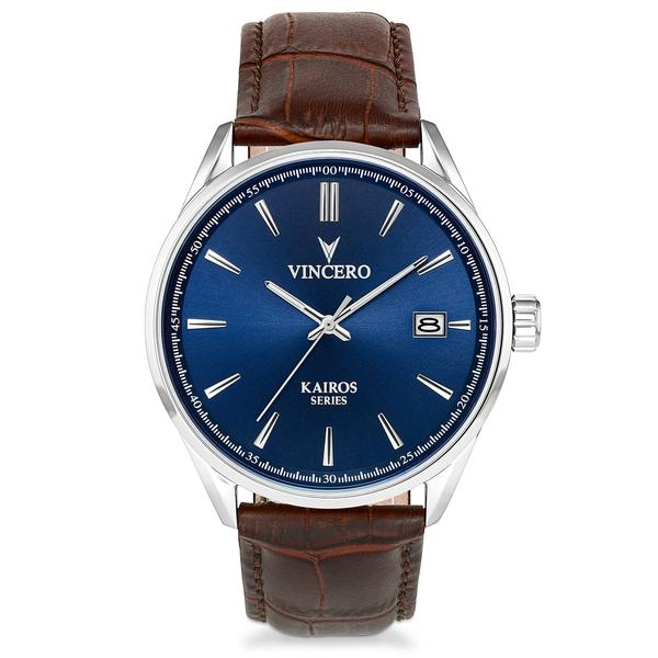 Image of   Vincero Kairos Blue/Brown