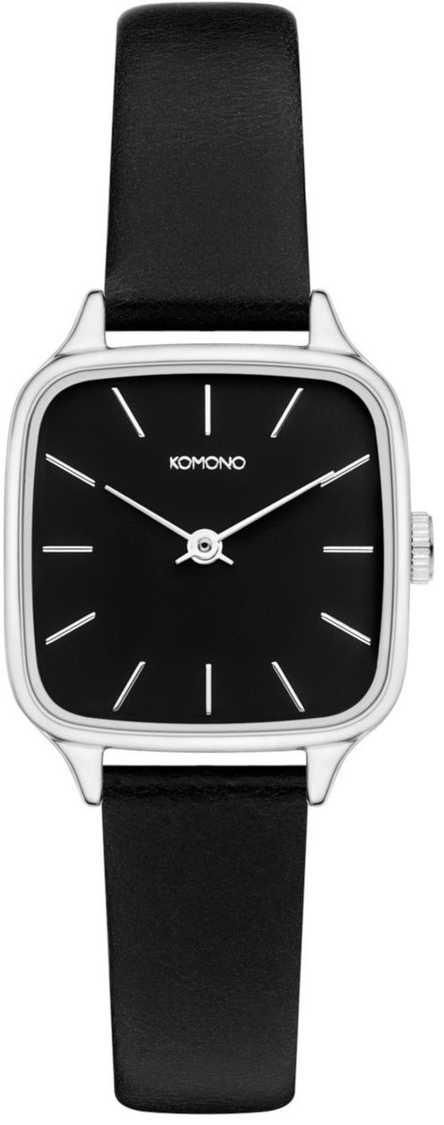 Image of   Komono Kate Black Silver