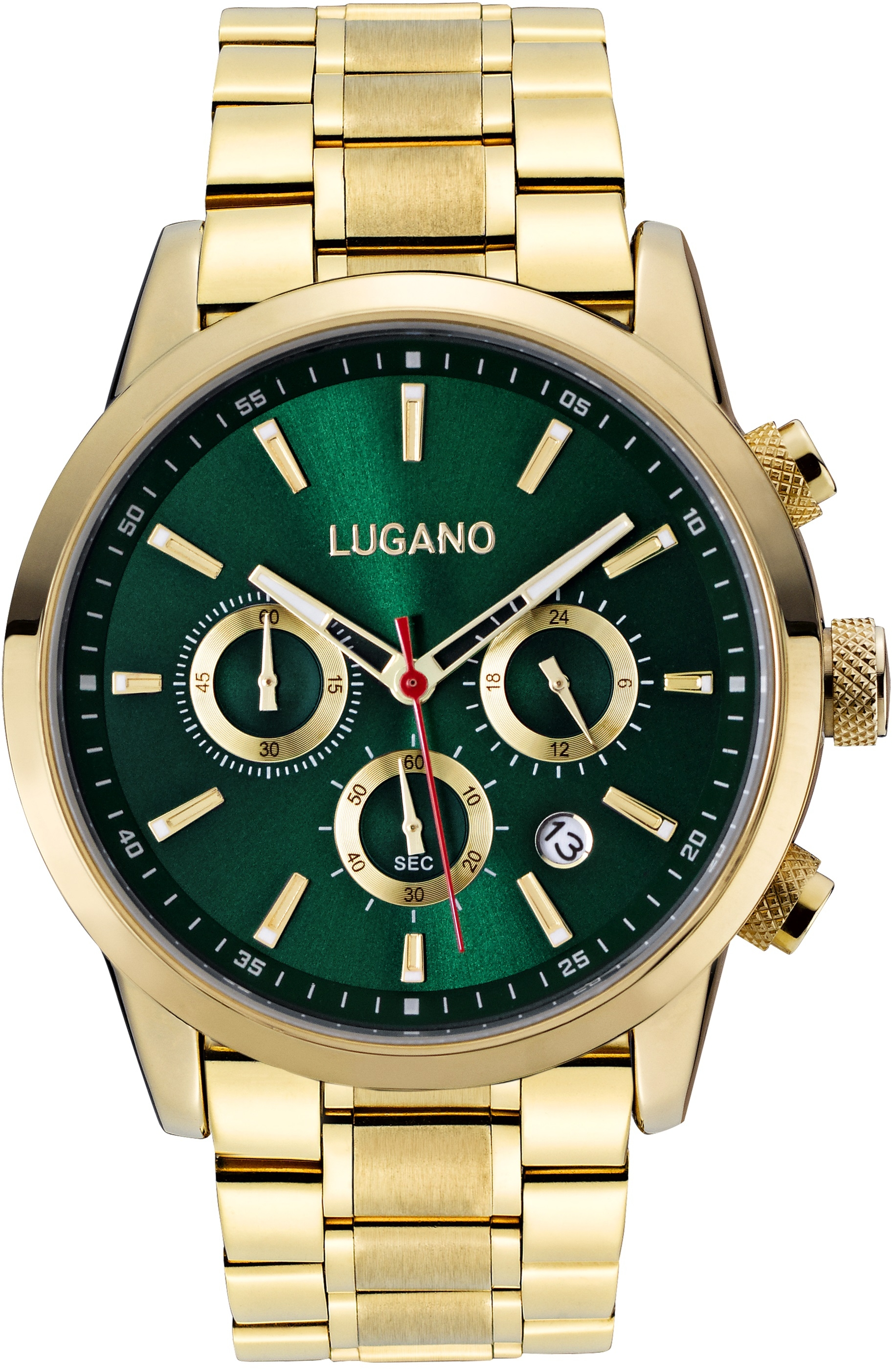 Image of   Lugano Master Gold/Green