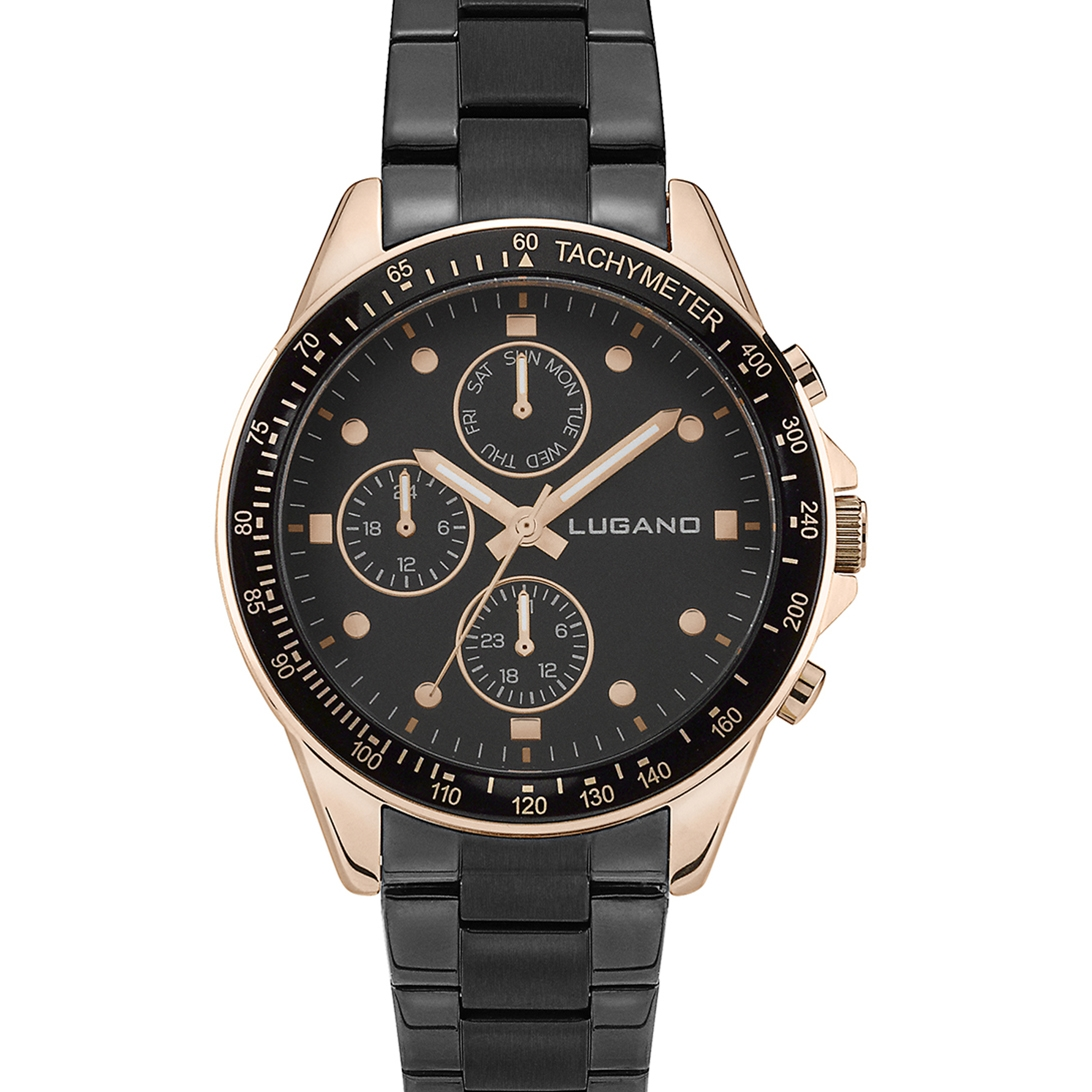 Image of   Lugano Chrono Black/Black