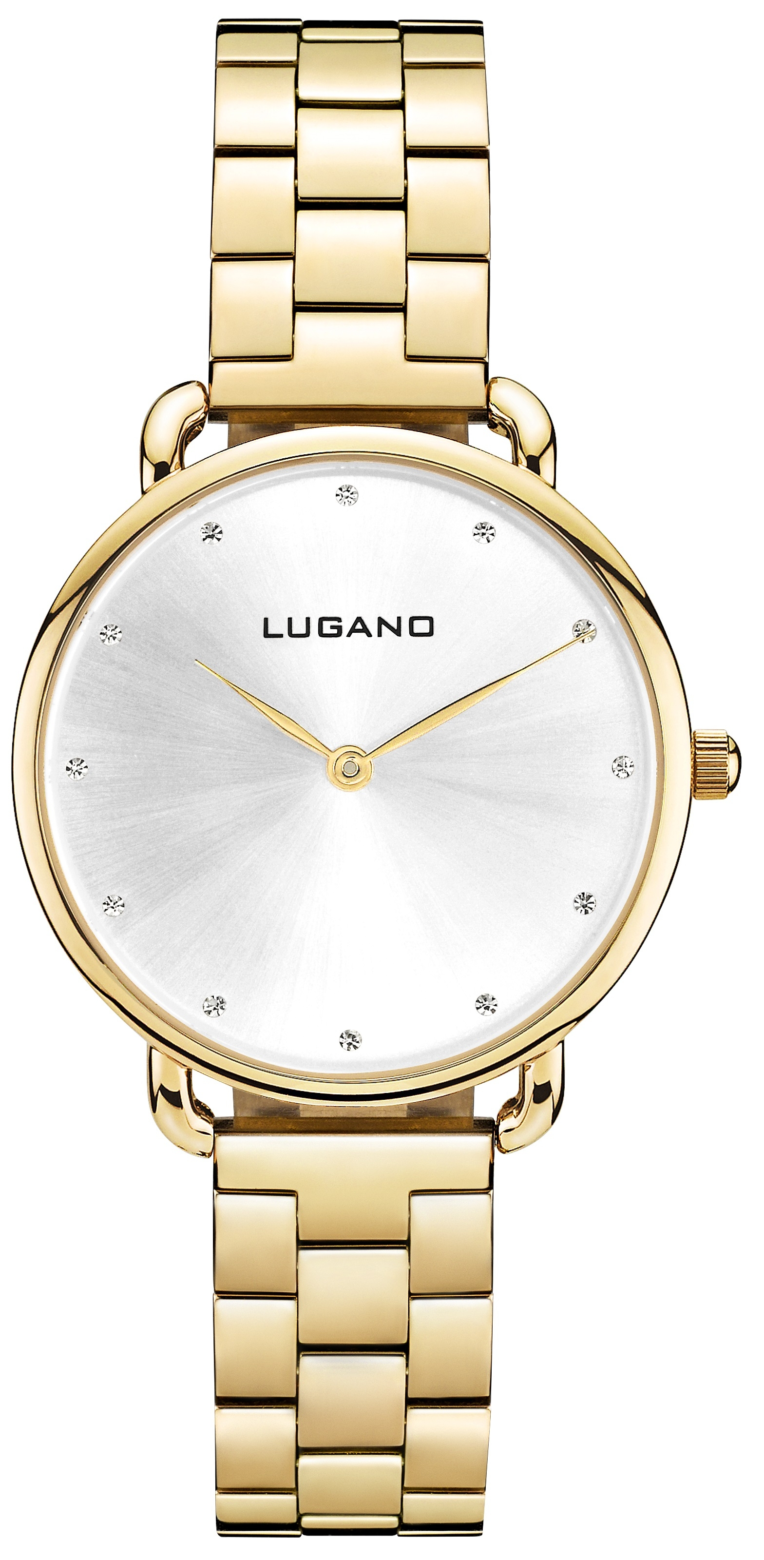 Image of   Lugano Gold Steel