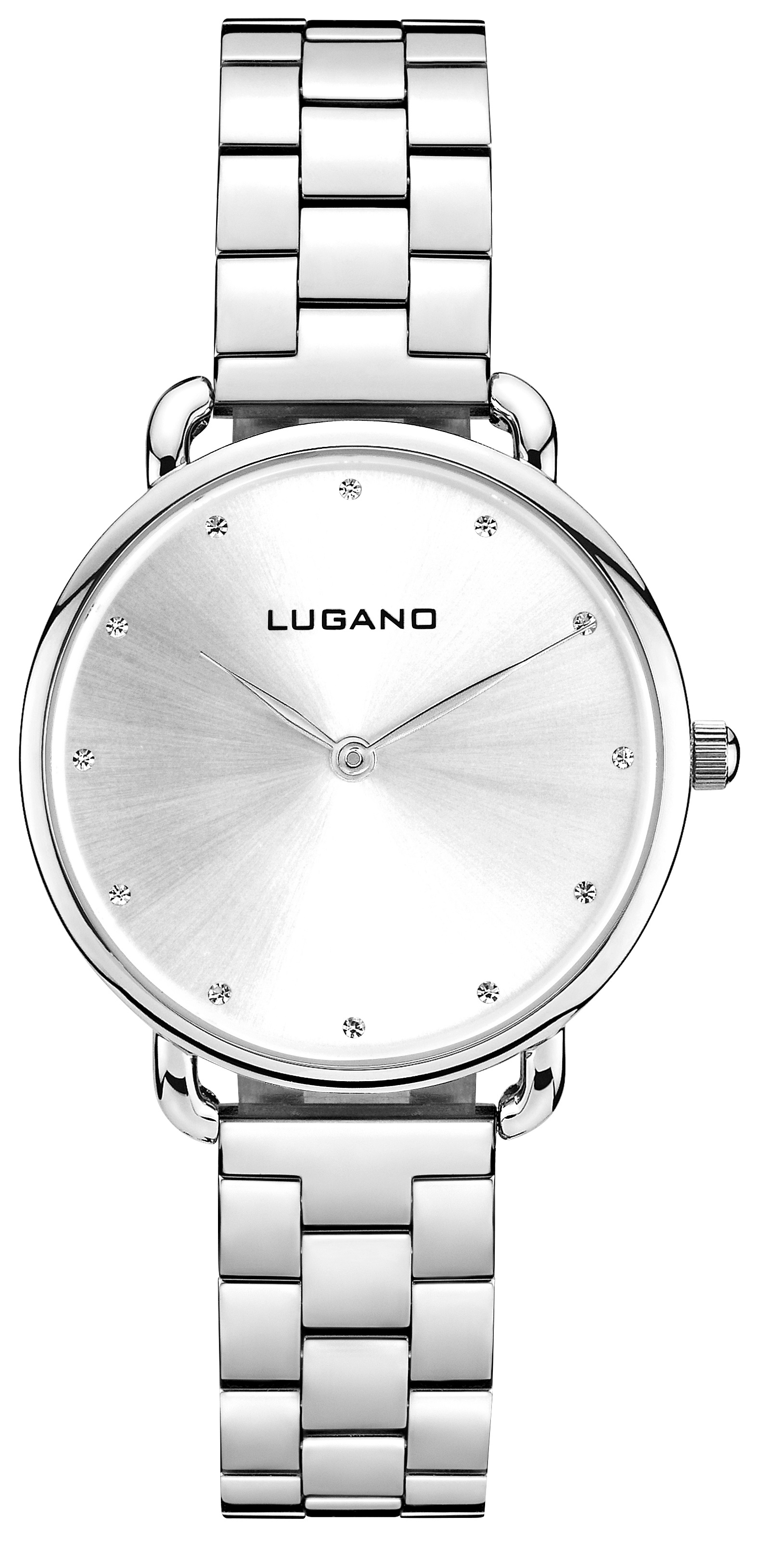 Image of   Lugano Silver Steel