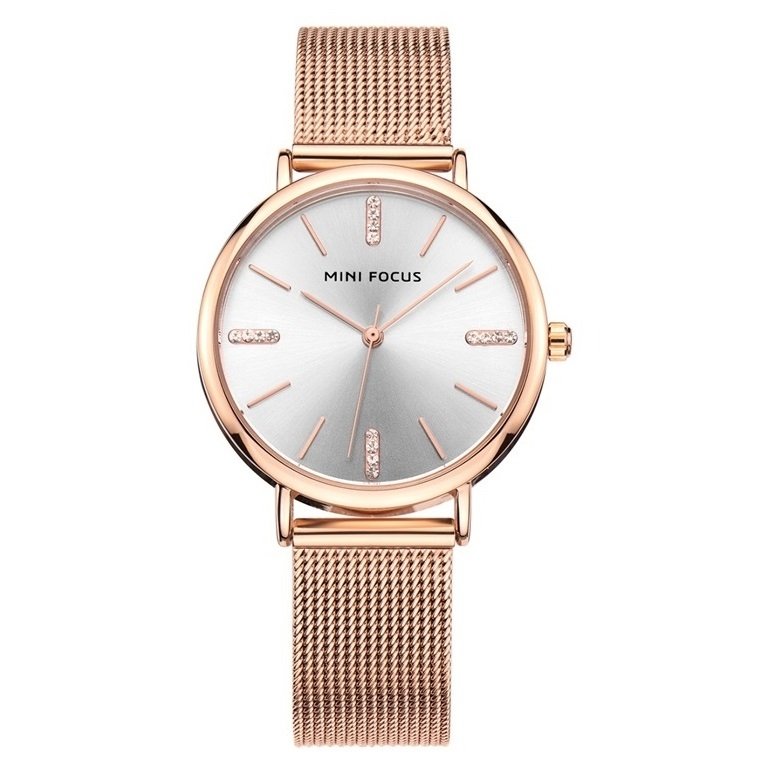 Image of   Megir Mini Focus Mesh Rose Gold