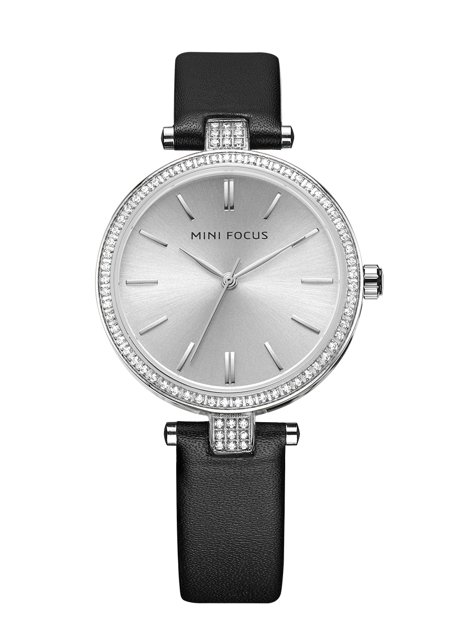 Megir Mini Focus Silver Leather