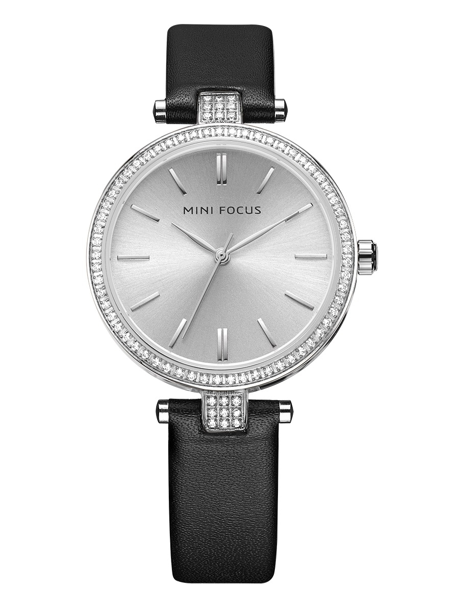Image of   Megir Mini Focus Silver Leather