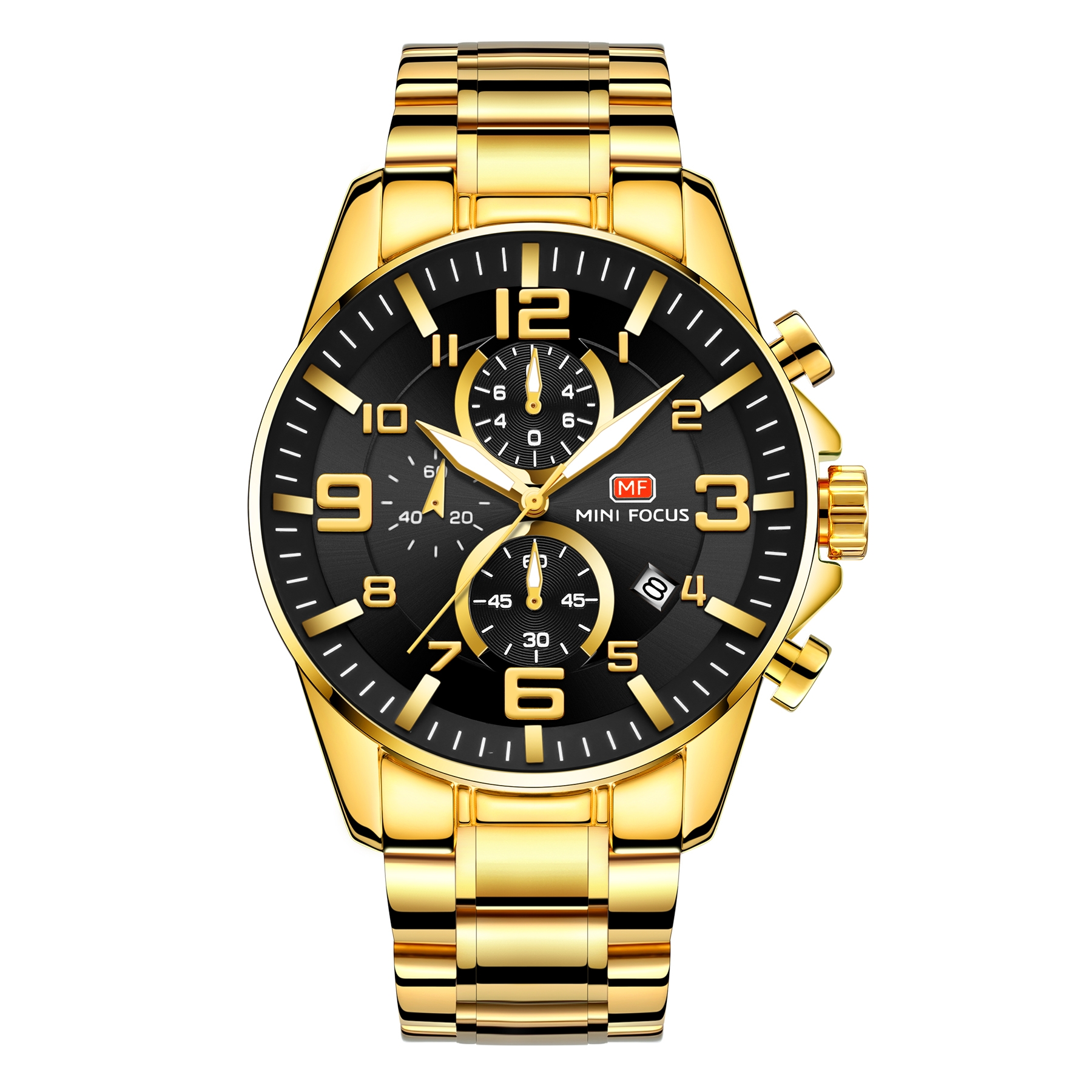 Image of   Megir Mini Focus MF0278 Gold/Black