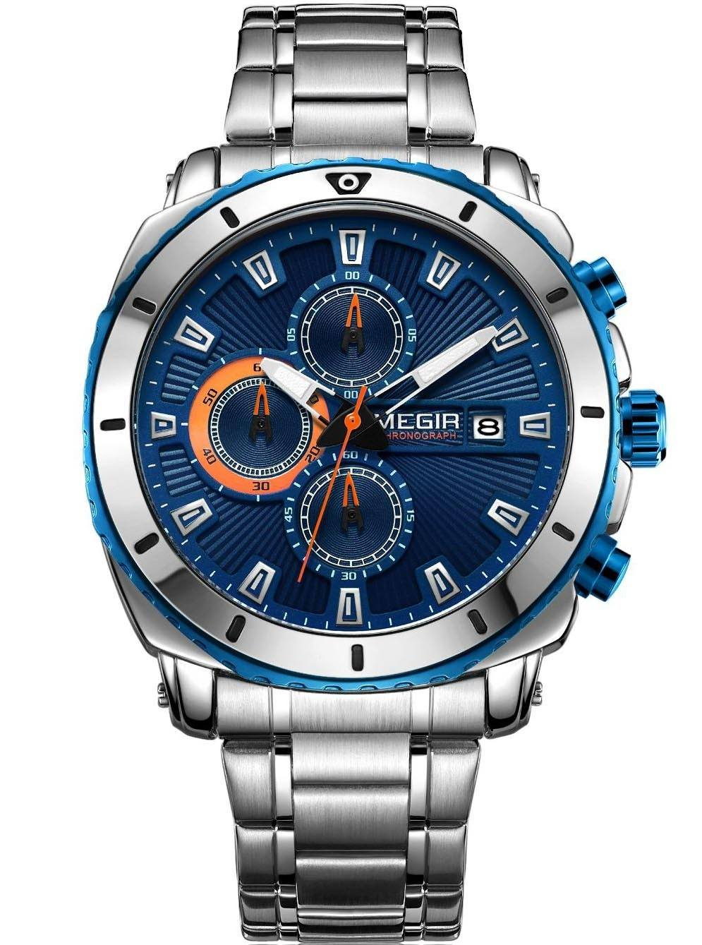 Image of   Megir Chronograph MS2075G-2