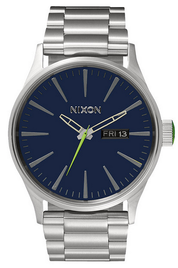 Nixon Sentry SS Midnight Blue/Vault Green