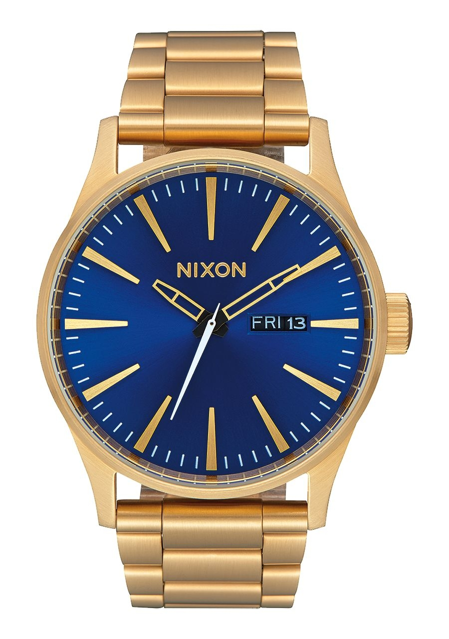 Image of   Nixon Sentry SS All Gold / Blue Sunray