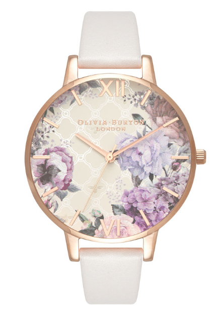Image of   Olivia Burton Glasshouse Blush & Rose Gold