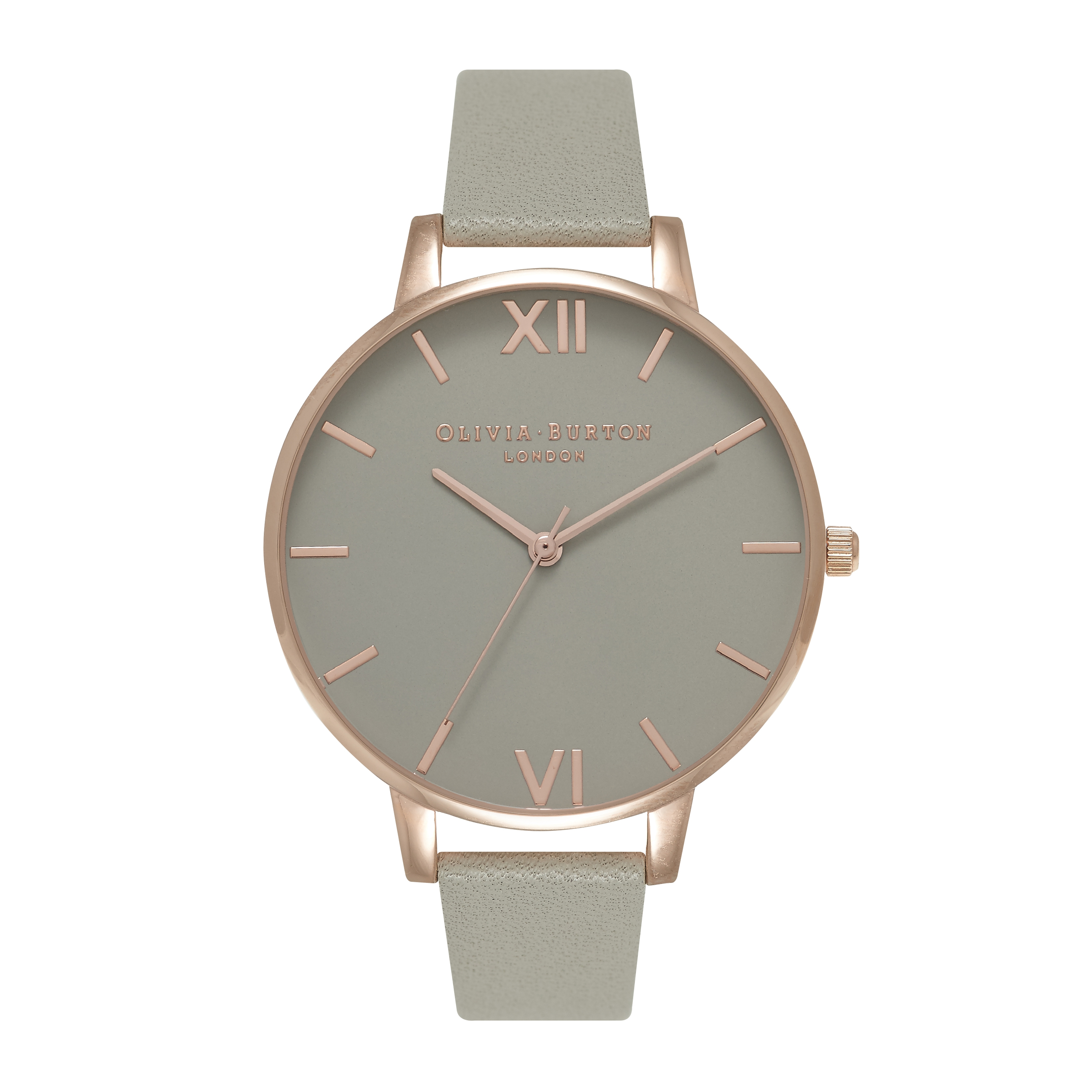 Image of   Olivia Burton Grey Dial Gold