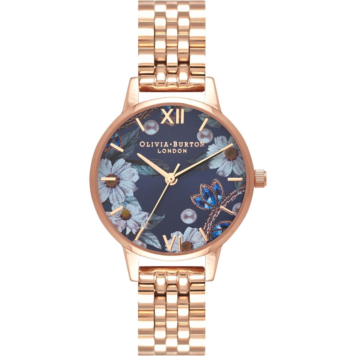 Image of   Olivia Burton Bejewelled Sunray Rose