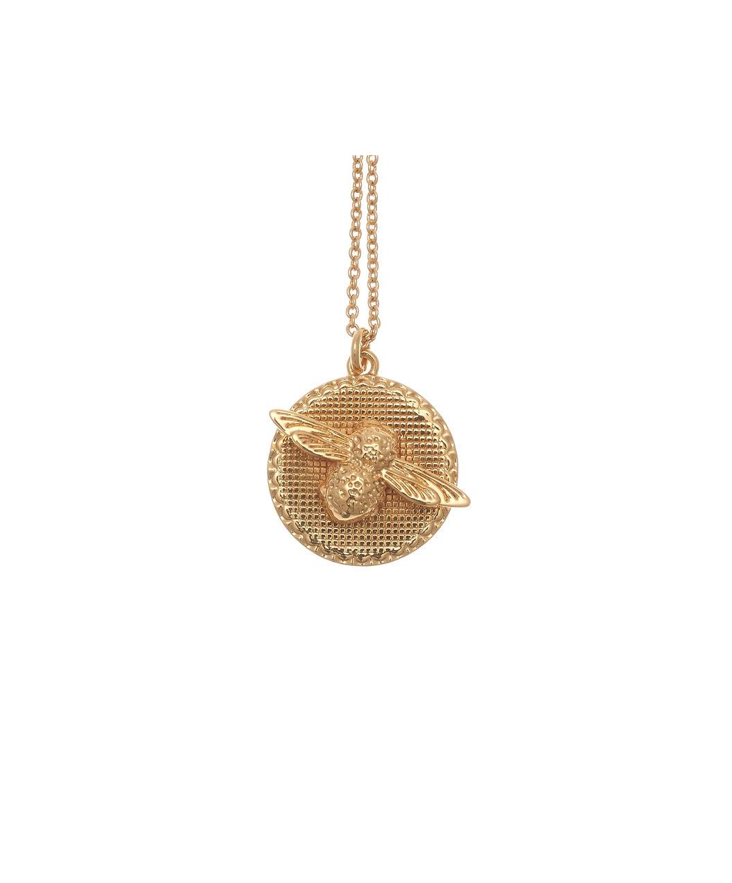 Olivia Burton Bee Coin Necklage Gold