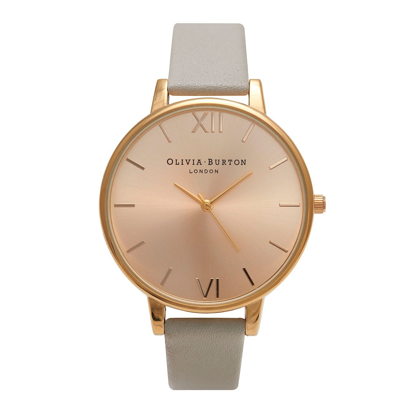 Olivia Burton Big Dial Grey and Gold