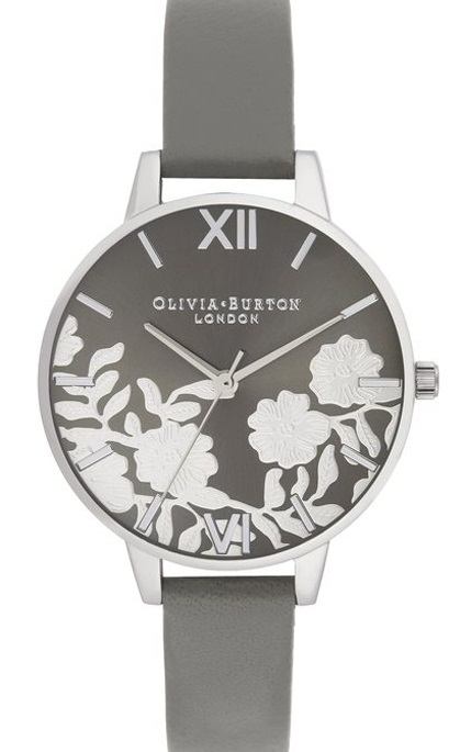 Image of   Olivia Burton Lace Detail Sunray Demi Dial
