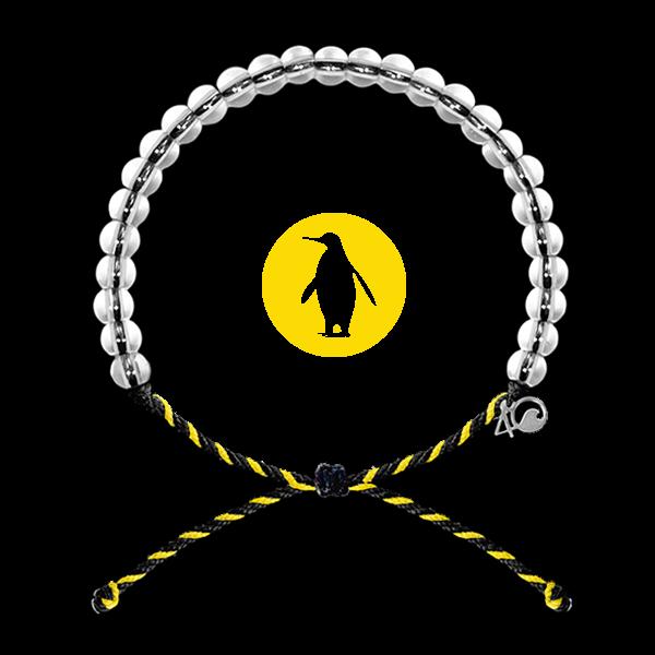 Image of   4ocean Pinguin armbånd - støt et godt formål