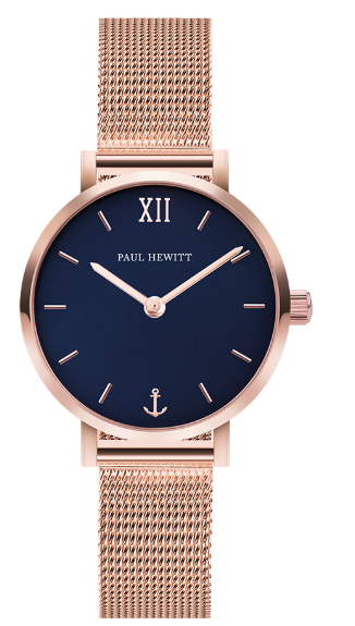 Image of   Paul Hewitt Blue Lagoon IP Rose Gold Mesh