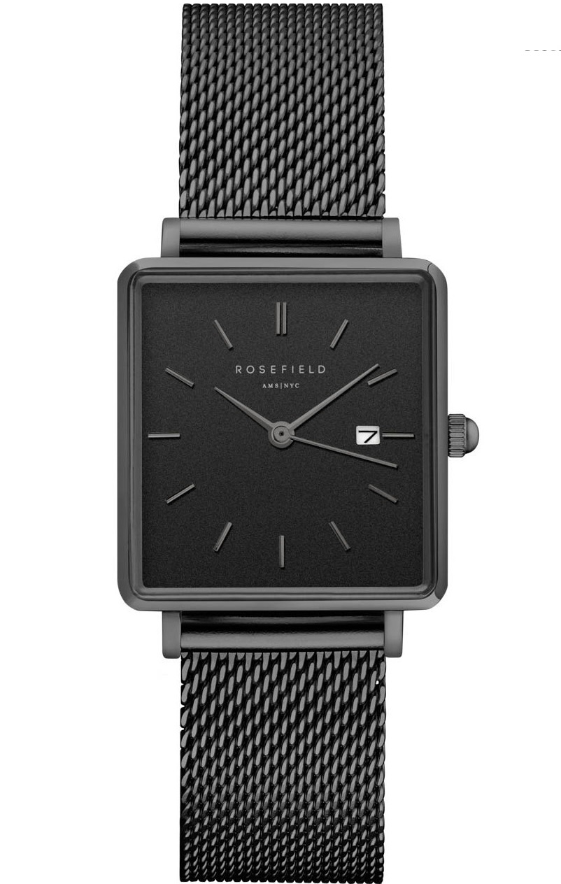 Image of   Rosefield The Boxy Black Mesh Black