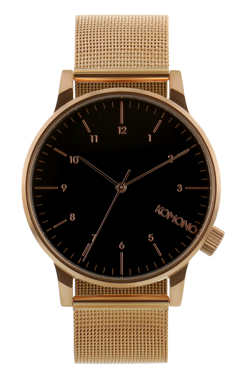 Image of   Komono Winston Royale Rose Gold Black