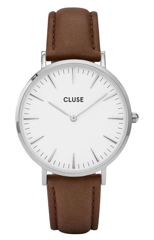 Cluse La Bohème Silver White Brown