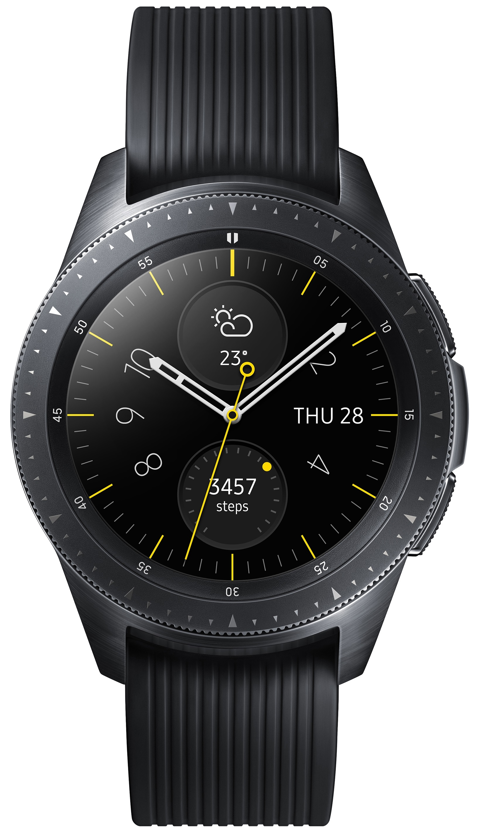 Image of   Samsung Galaxy Watch 42mm Bluetooth + 4G - Midnight Black