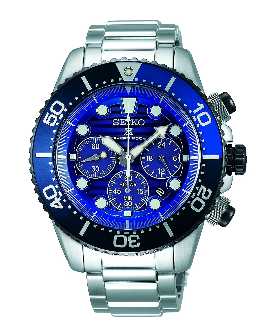 Image of   Seiko Prospex Save The Ocean Solar SSC741P1