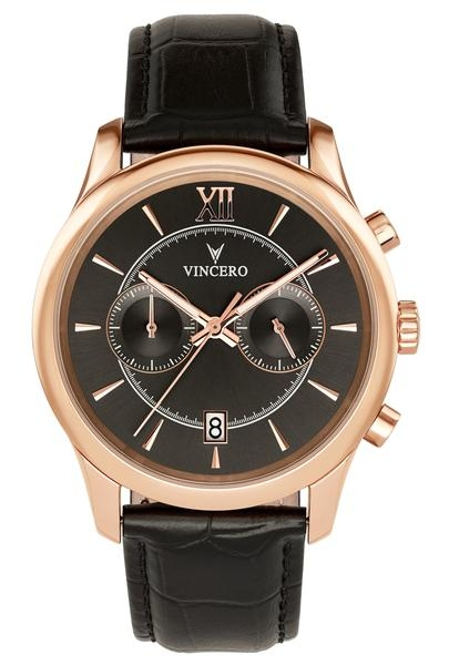 Vincero The Bellwether Rose Gold Black