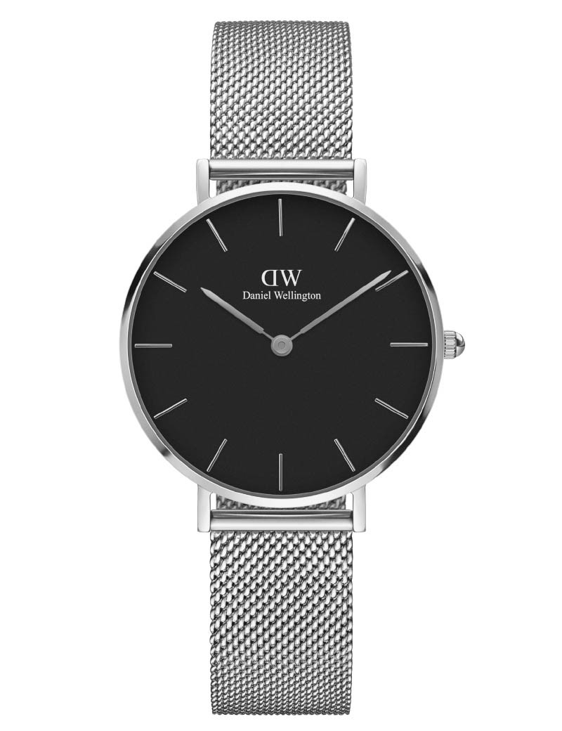 Image of   Daniel Wellington Classic Petite 32 Sterling Black