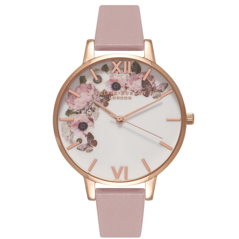Olivia Burton Enchanted Garden Rose Sand/Rose Gold