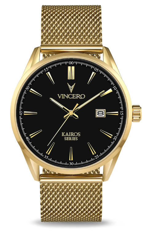 Image of   Vincero Kairos Mesh Gold/Black