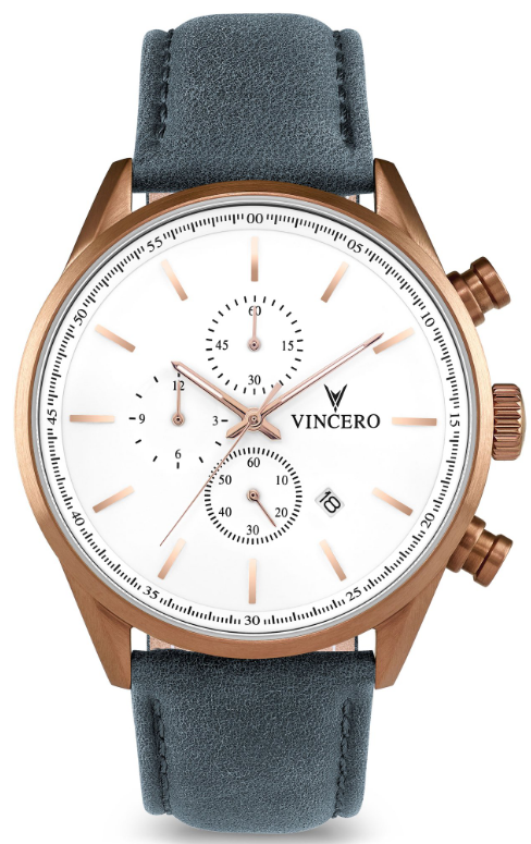 Image of   Vincero Chrono S Copper/Slate Blue