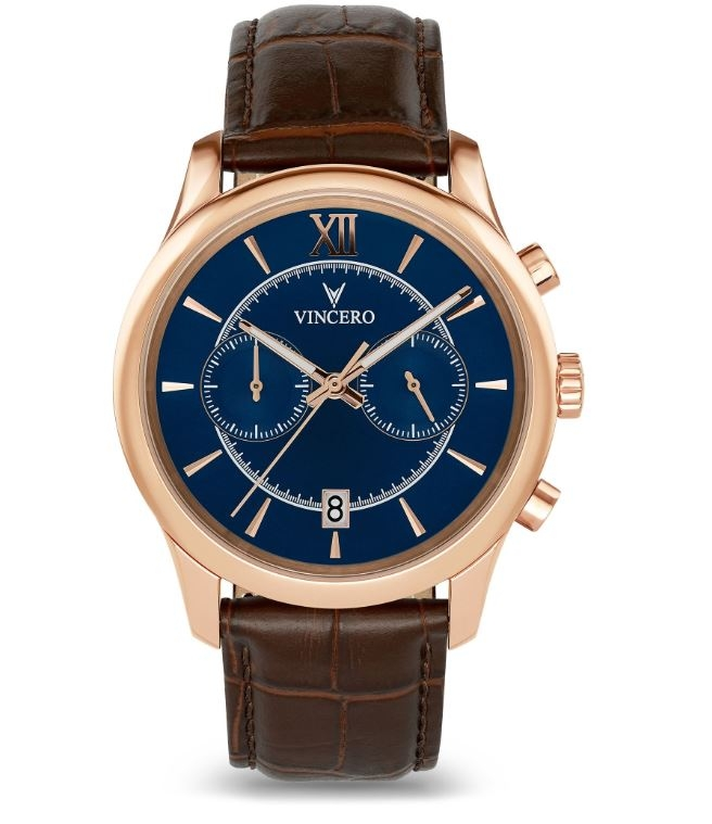 Image of   Vincero The Bellwether Rose Gold Brown