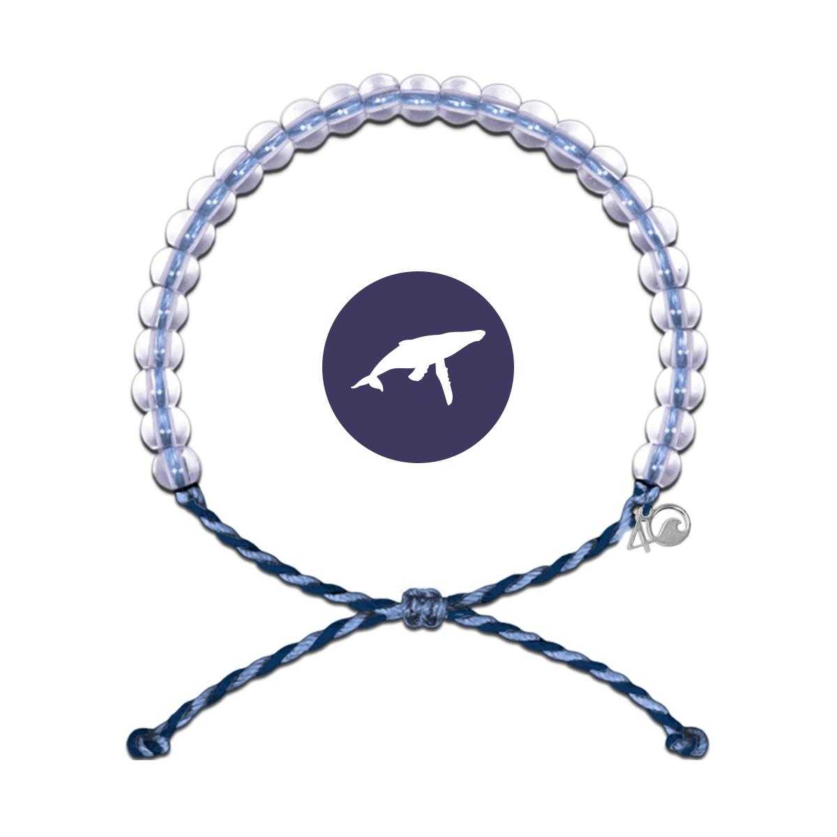 Image of   4ocean Whale Lt armbånd - støt et godt formål
